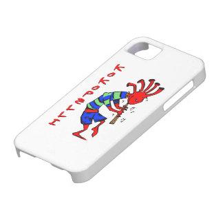 ココペリの赤い人 iPhone SE/5/5s ケース