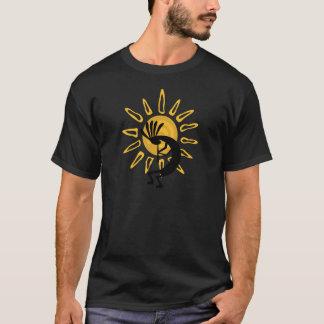 ココペリの金ゴールドメンズ暗闇のTシャツ Tシャツ