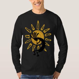 ココペリの金ゴールドメンズ長袖のTシャツ Tシャツ