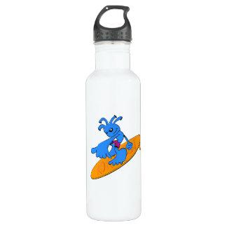 ココペリの青のサーファー ウォーターボトル