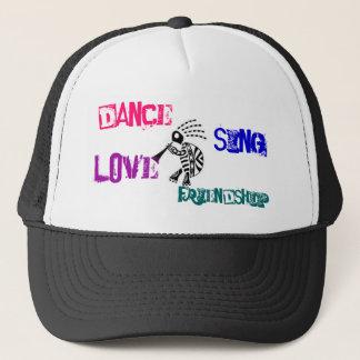 ココペリカメ、ダンスは、友情歌いましたり、愛します キャップ