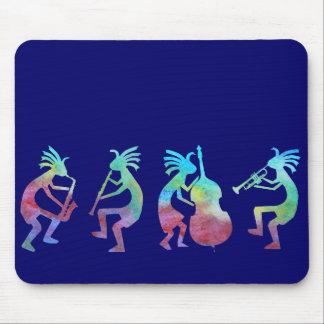 ココペリジャズ四つ組 マウスパッド
