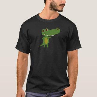 ココヤシおとぎ話の王国からのワニ Tシャツ