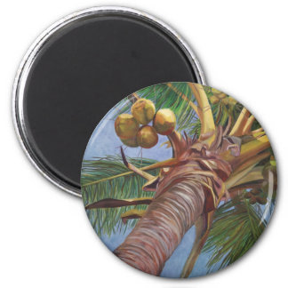ココヤシの木の下 マグネット