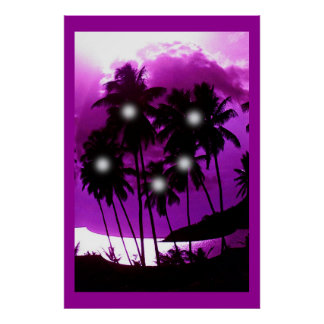 ココヤシの木の精神 ポスター