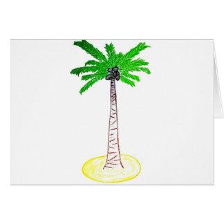 ココヤシの木 カード