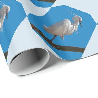 コサギの包装紙 ラッピングペーパー