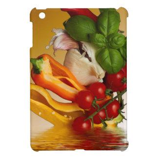 コショウのベズルのトマトのニンニク iPad MINIケース