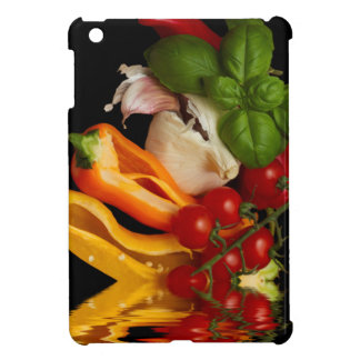 コショウのベズルのトマトのニンニク iPad MINI カバー