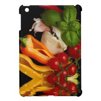 コショウのベズルのトマトのニンニク iPad MINI CASE