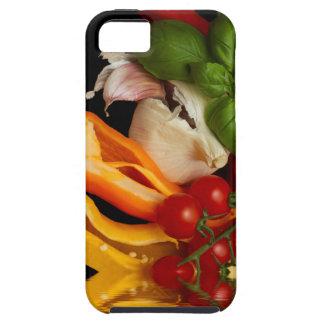 コショウのベズルのトマトのニンニク iPhone SE/5/5s ケース