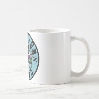 コショウの実のグレービー-完全なバンドロゴ(青い) コーヒーマグカップ