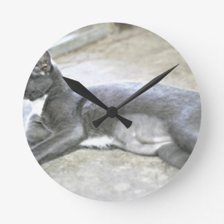 コショウを採用して下さい ラウンド壁時計