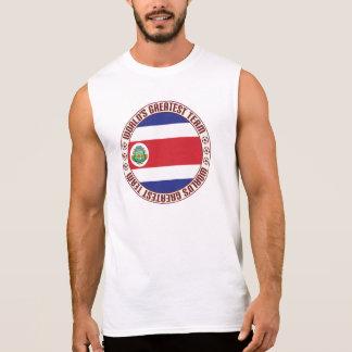 コスタリカのすばらしいチーム 袖なしシャツ