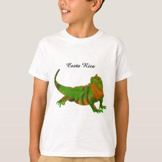 コスタリカのイグアナ Tシャツ
