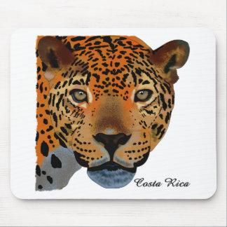 コスタリカのジャガー マウスパッド