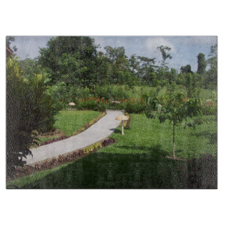 コスタリカの庭 カッティングボード