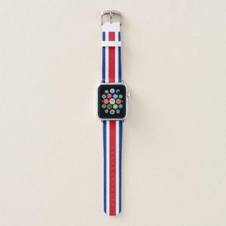 コスタリカの旗のAppleの時計バンド Apple Watchバンド