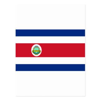 コスタリカの旗のCR ポストカード
