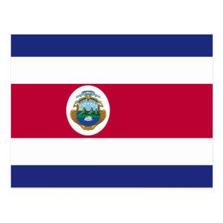 コスタリカの旗 ポストカード