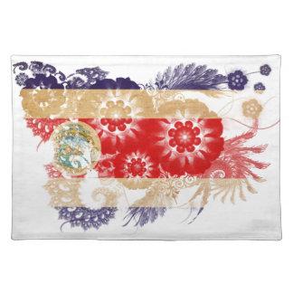 コスタリカの旗 ランチョンマット