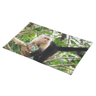コスタリカの猿 ランチョンマット