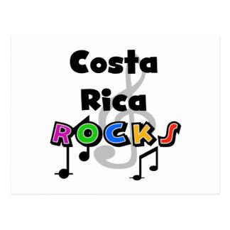 コスタリカの石 ポストカード