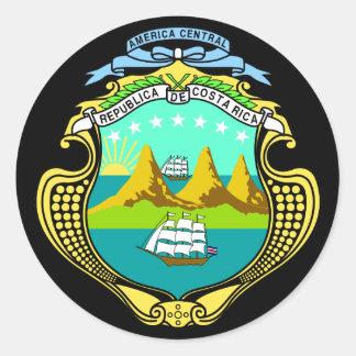 コスタリカの紋章 ラウンドシール