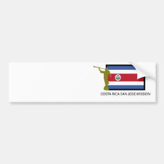 コスタリカサンノゼの代表団LDS CTR バンパーステッカー