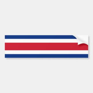 コスタリカ、コスタリカの旗 バンパーステッカー
