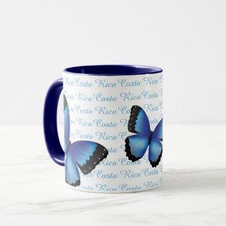 コスタリカMorphoの蝶マグ マグカップ