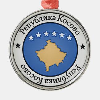 コソボの円形の紋章 メタルオーナメント