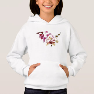 コチョウランの蘭の花の花束