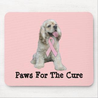 コッカースパニエルの乳癌のマウスパッド マウスパッド