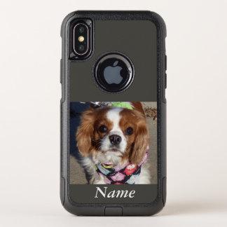 コッカースパニエルのiPhone Xの場合 オッターボックスコミューターiPhone X ケース