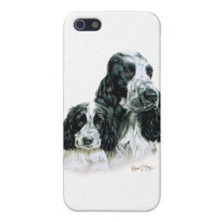 コッカースパニエル及び子犬 iPhone SE/5/5sケース
