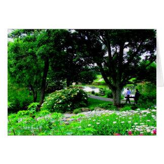 コックス植物園-デイトン、オハイオ州の歩行 カード