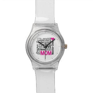 コック長のお母さん-母の日か誕生日 腕時計