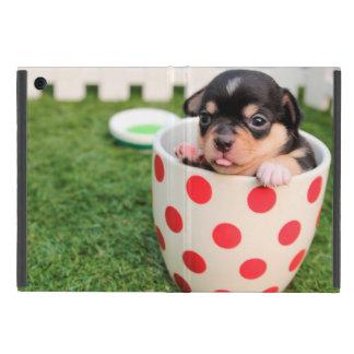 コップのかわいい子犬 iPad MINI ケース