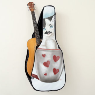 コップのかわいい子猫 ギターケース