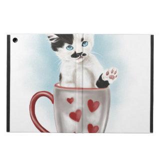 コップのかわいい子猫 iPad AIRケース