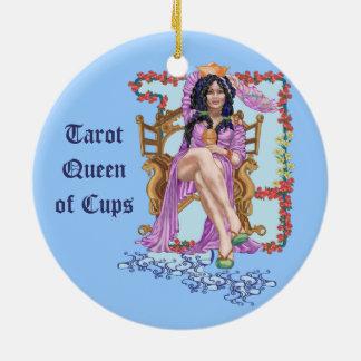 コップのタロットの女王 セラミックオーナメント