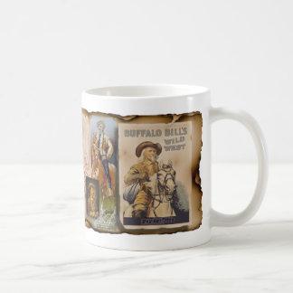 コップ、タンブラー、ジョッキ-バッファロービルCody コーヒーマグカップ