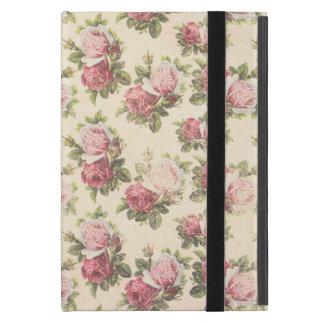 コテージのシックなピンクのバラ iPad MINI ケース