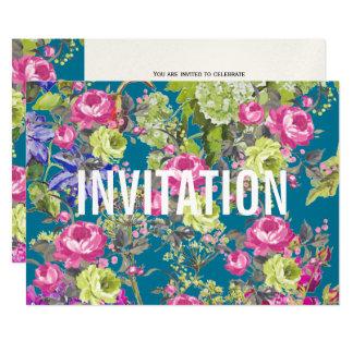 コテージの庭の自由のスタイル|のパーティの招待状 カード
