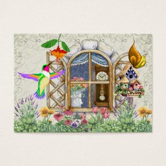 コテージの窓のギフトカード- SRF 名刺