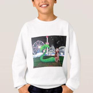 コニーアイランドの人魚 スウェットシャツ