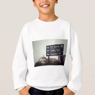 コニーアイランドの印 スウェットシャツ