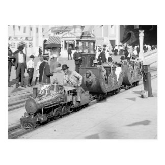 コニーアイランド1905年のミニチュア鉄道 ポストカード