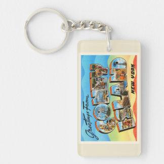 コニーアイランド#2ニューヨークNY古い旅行記念品 キーホルダー